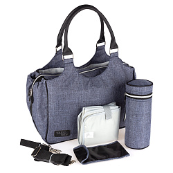 Сумка Valco baby Mothers Bag Denim, синий