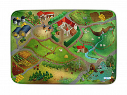 Коврик Ultra Soft HOK Farm, 100x150 см
