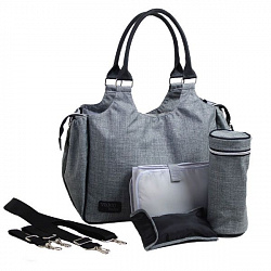 Сумка Valco baby Mothers Bag Grey Marle, серый
