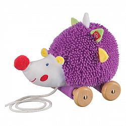 Каталки и качалки для малышей Happy Baby 330349 Игрушка-каталка 'Ёж'