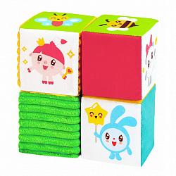 Набор из четырех кубиков 'Малышарики'