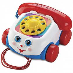 Развивающие игрушки для малышей Mattel Fisher-Price FGW66 Фишер Прайс Телефон на колесах