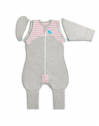 Спальный комбинезон Love To Dream Swaddle UP Transition Suit Original XL, Pink, розовый